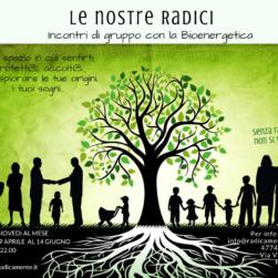 Le nostre radici - percorso di gruppo di bioenergetica a Padova